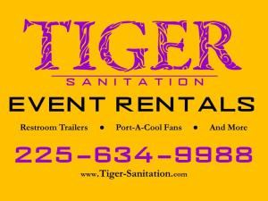 Tiger Sanitation - Event Rentals