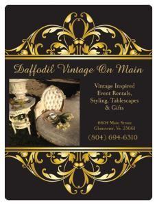 Daffodil Vintage On Main - Event Rentals, Vintage Rentals