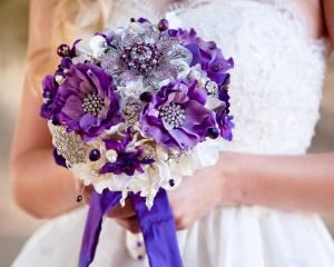 Blue Petyl Bouquets