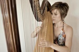 Jessica Schaeffer, harpist