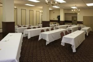 Half of Lower Level Banquet Hall
