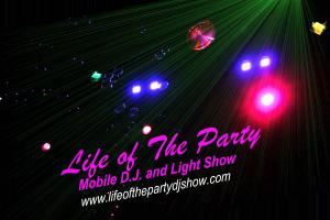 Life of the party mobile dj show