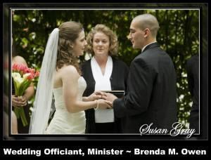 Brenda M. Owen ~ Wedding Officiant & Minister - Greenville