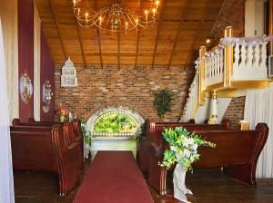 Galena Wedding Chapel At Bernadine's Stillman Inn