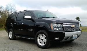 Black Luxury SUV, San Juan Island Town Car & Limousine Service