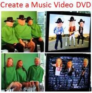 Create a Music Video DVD - San Antonio Area