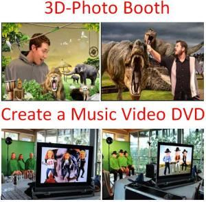 3D-PhotoBooth or Create a Music Video - San Antonio Area