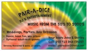 Pair A Dice DJ & Entertainment