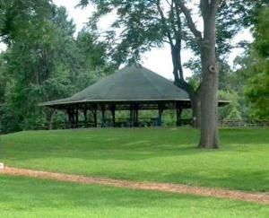 Waterfowl Lake Pavilion