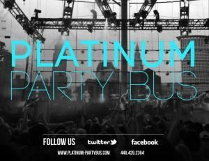 PLatinum Party Bus