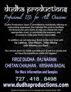 DUDHA PRODUCTIONS LLC