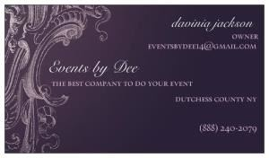 Events by Dee