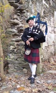 The Artist Bagpiper