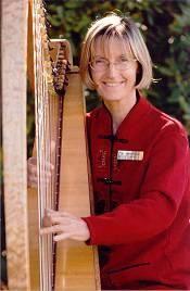 Alison Vardy-Harpist