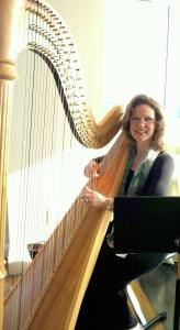 Peggy Bailey, harpist
