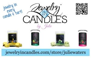 Jewelry in Candles by Julie