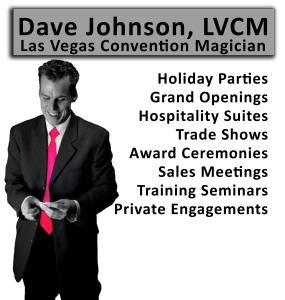 """Las Vegas Convention Magician"""