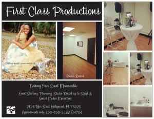 First Class Productions Studio