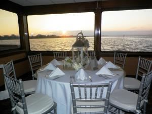 SOLARIS Yacht Private Dining Room Space