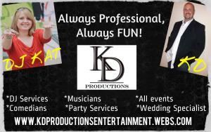 KD PRODUCTIONS ENTERTAINMENT SERVICES