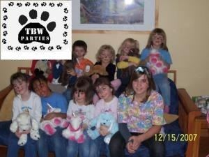 Teddy Bear Workshop Parties