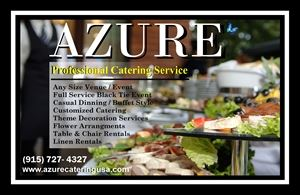 Azure Catering & Events