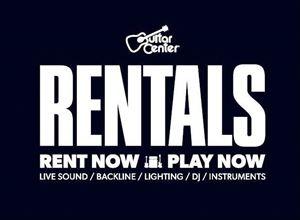 Guitar Center Rentals