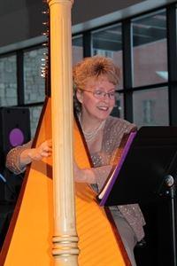 Harpist Serena O'Meara - Wisconsin Dells
