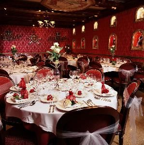 Red Room Private Dining Space
