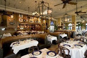 La Fonda dining room
