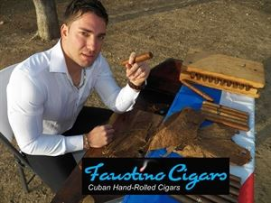 Faustino Cigars - Hand Rolled Cuban Cigars Demonstration