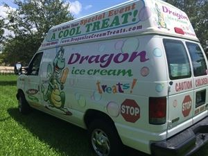 Dragon Ice Cream Treats