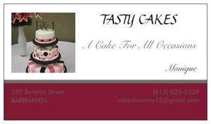 Tasty Cakes by Monique