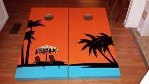Belmont Custom Cornhole Boards