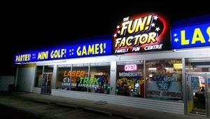 The Fun Factor Family Fun Centre - Laser Tag - Mini Golf & Lazer Frenzy!