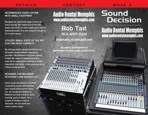 Audio Rental Memphis