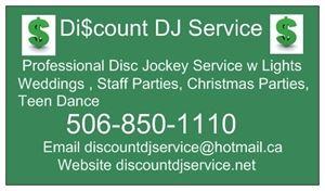 Discount DJ Service