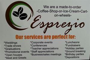 Esprezio  Gourmet Espresso and Ice Cream