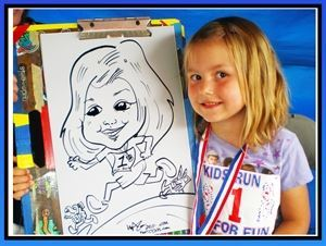 Caricatures by Dian & Pete Wagner