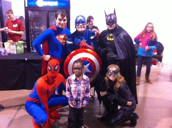 Superhero Party Character Company