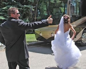 L.A. Custom Coaches- Wedding Limo Service -Wedding Limousine Lethbridge AB.
