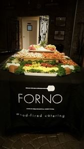 Forno wood-fired catering