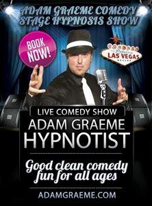 Adam Graeme Comedy Stage Hypnosis Show