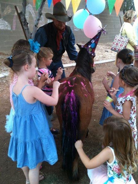 Itty-Bitty Pony Parties