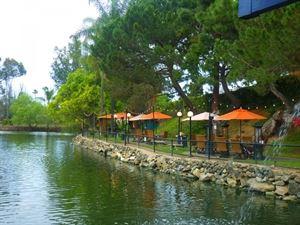 Lakefront Cabana