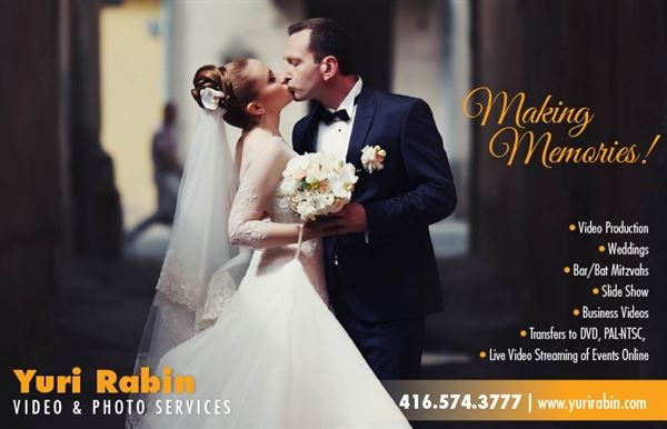 Yuri Rabin Video and Photo Services