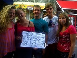 Toronto's Caricature Guy