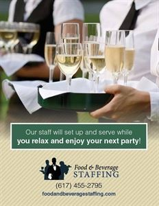 Food and Beverage Staffing Boston