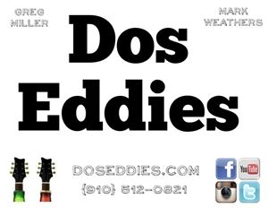 Dos Eddies - Acoustic Guitar / Vocal Duo - New Bern