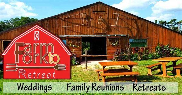 Farm to Fork Retreat - Outdoor Wedding Venue w/ Barn & Accommodations!